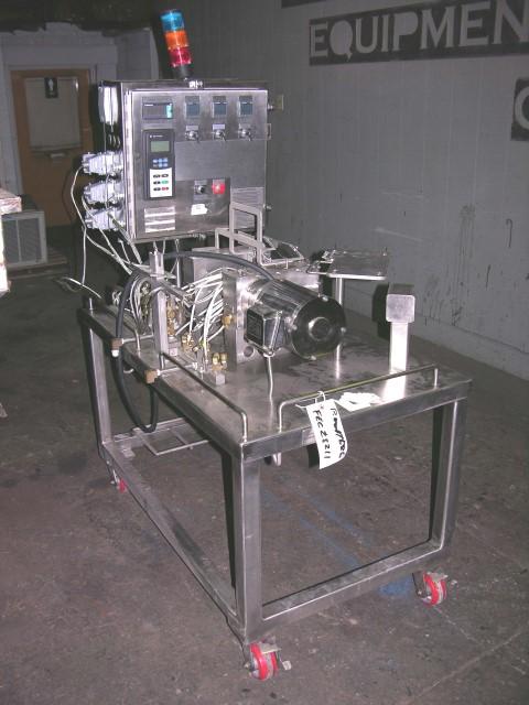 3 MM EXTRUDER TECH TWIN SCREW EXTRUDER, 30:1 L/D, .5 HP