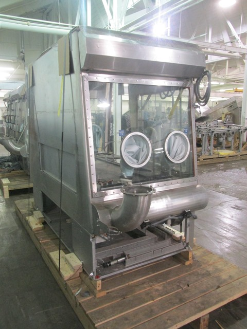 Bausch+Stroebel Vial Filling Line, Model WDS1000S