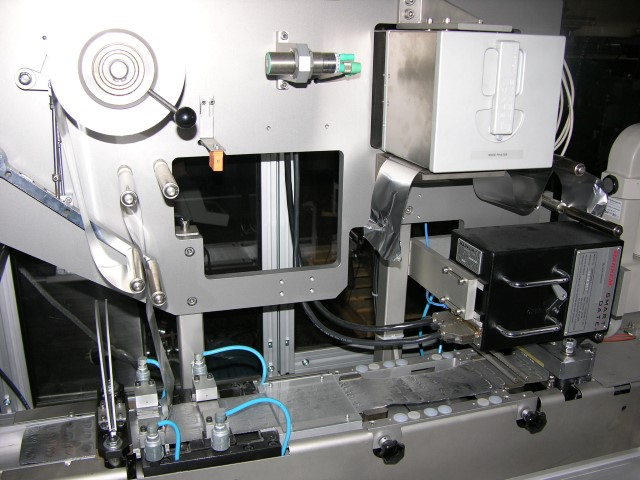 Klockner Pentapack Blister Machine, Type EAS