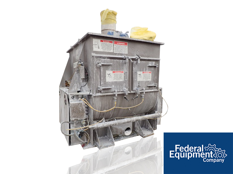 26 Cu Ft American Process Fluidized Zone Mixer, Model FZM26