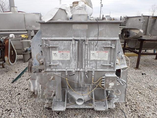 26 Cu Ft American Process Fluidized Zone Mixer, Model FZM26