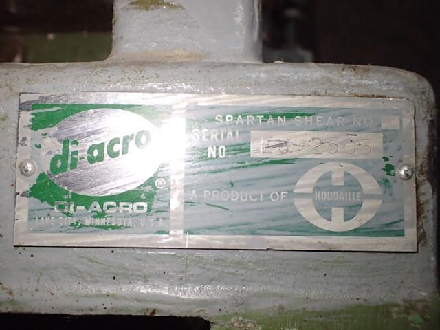 """Di-Acro 12"""" Manual Hand Shear"""