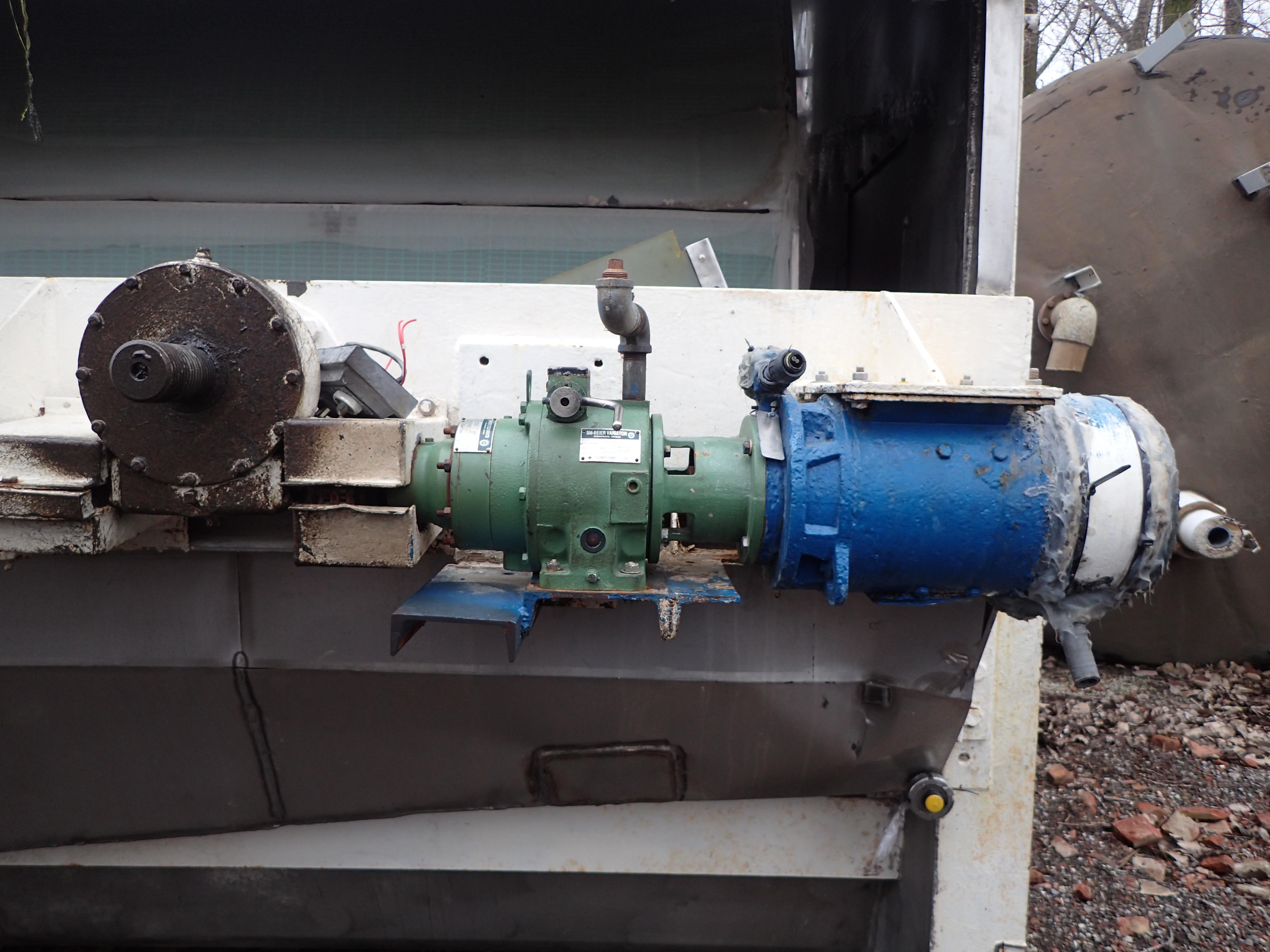 8'' x 10'' Eimco Precoat Rotary Vacuum Filter, S/S