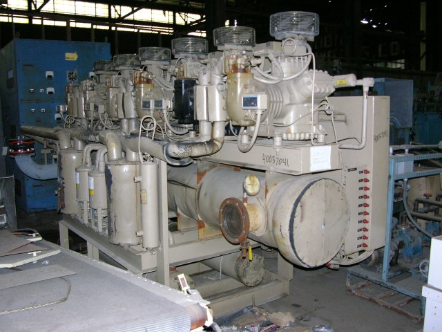 160 Ton RAE Corp Chiller, Water Cooled