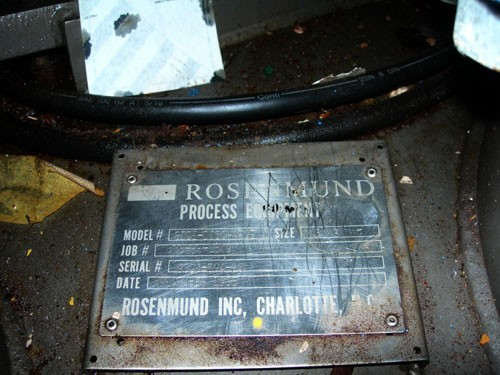 3 Sq Meter Rosenmund Filter Dryer, 316L S/S