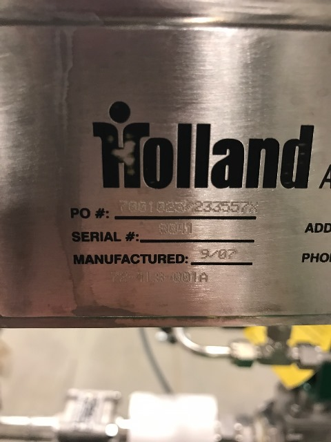 Holland Applied Tech Sanitary Metering System