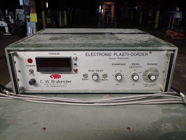 """3/4"""" Brabender Extruder, Type EPL-V3302, 24:1 L/D"""