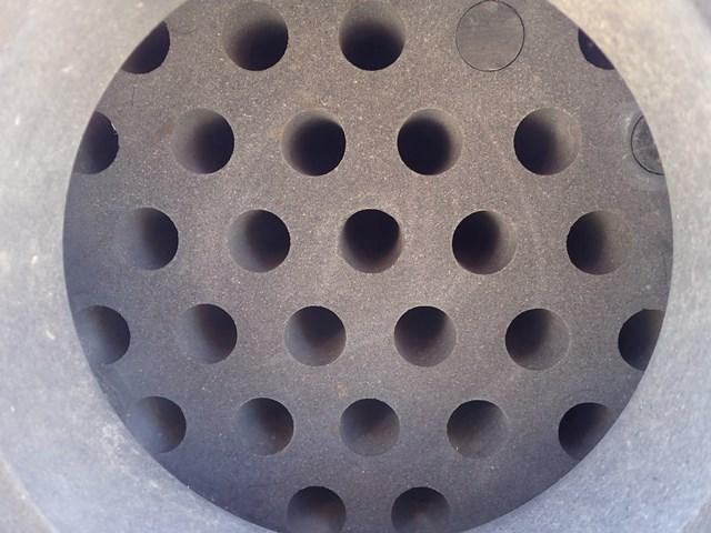 69.94 Sq Ft Union Carbide Karbate Heat Exchanger, 75/75
