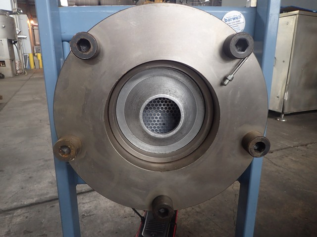 "10"" Ventura Hydraulic Fab Horizontal Ram Extruder"