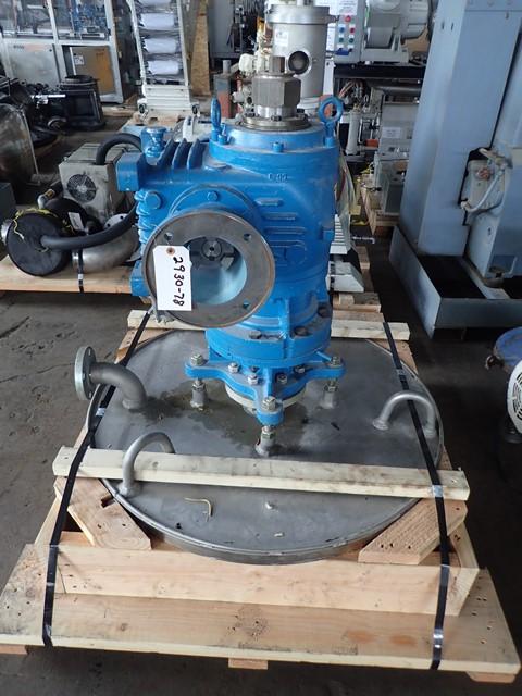 51.2 Sq Ft Pfaudler Wiped Film Evaporator, 316L S/S