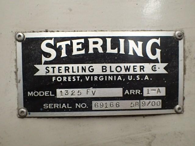 25 HP Sterling Blower