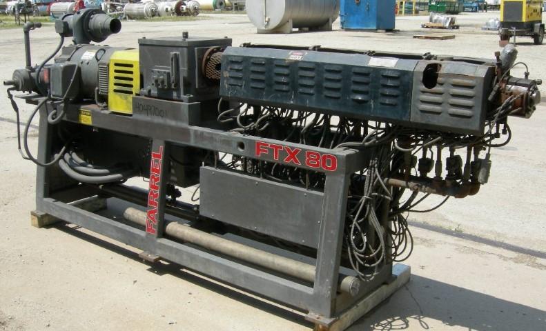 37 MM Farrel Twin Screw Extruder, 36:1 L/D
