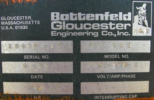 "54"" Battenfled Gloucester Laminating Line"
