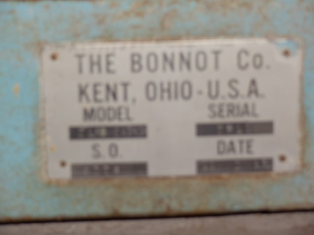 "2"" BONNOT EXTRUDER C/S 1.5HP"