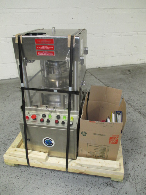 GlobePharma Mini Press II, Model 10-ST-PC