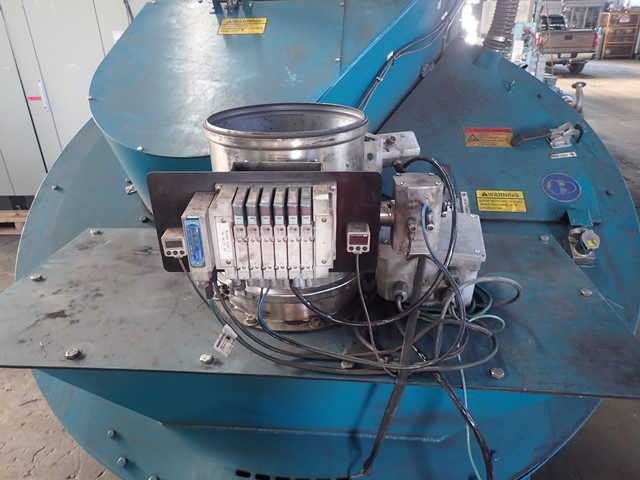RV15 Eirich Mixer, 304 S/S, 75 HP