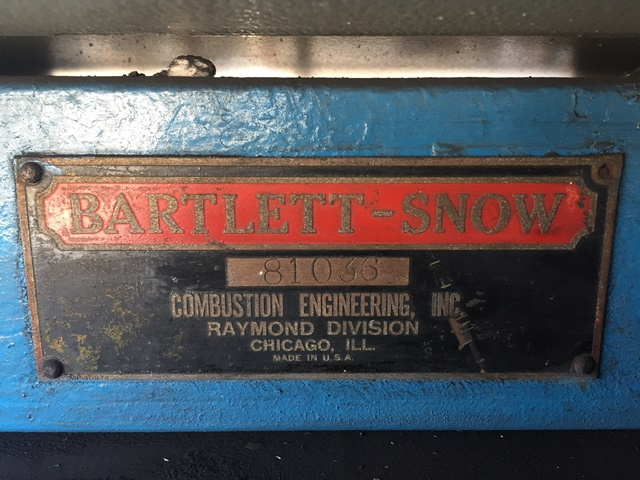 """6"""" x 7'' Bartlett and Snow Rotary Calciner"""