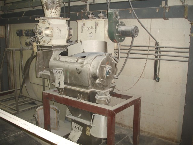 """8"""" X 30"""" CAMCORD CENTRIFUGAL SIFTER S/S"""