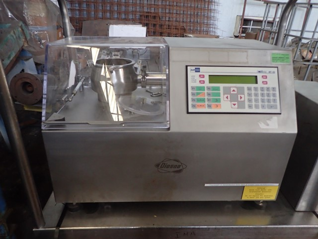 2 LITER DIOSNA HIGH SHEAR MIXER, MODEL P 1/6, S/S