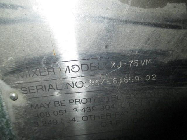 .75 HP LIGHTNIN AGITATOR, MODEL XJ75VM