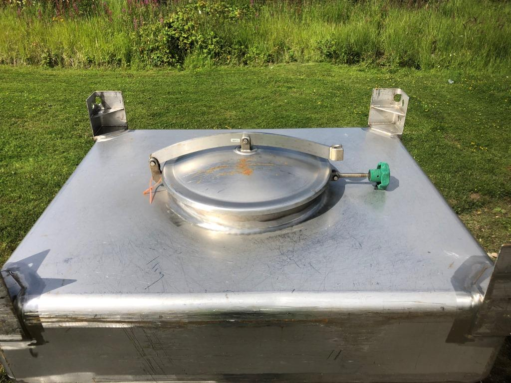 600 Liter Bin, S/S
