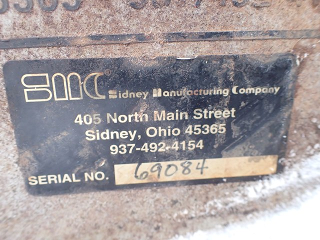 12'' SMC Drag Conveyor, S/S, 2 HP