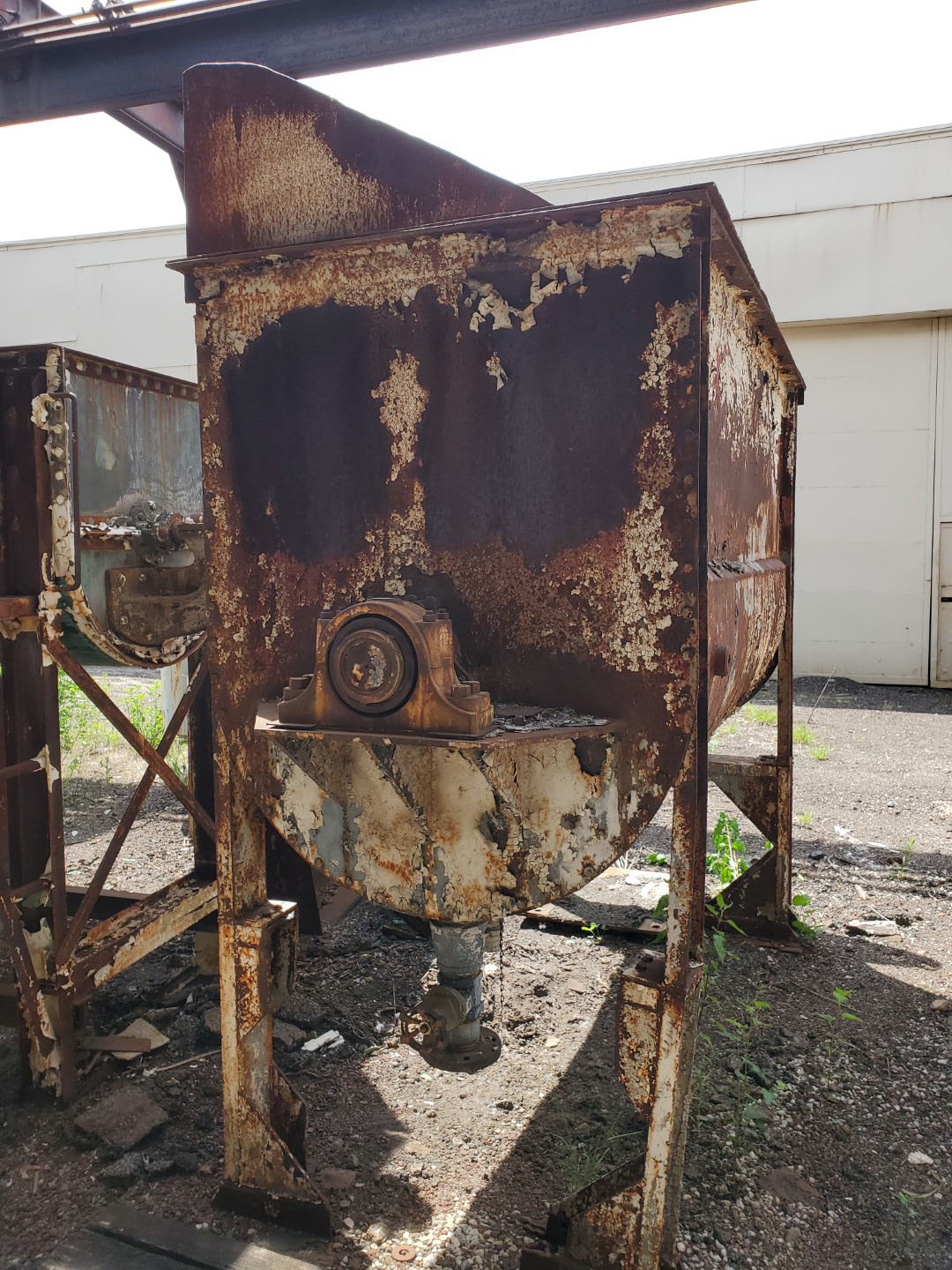 80 Cu Ft Day Ribbon Blender, C/S, Jacketed
