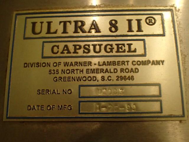 Capsugel Ultra 8II Capsule Fillter