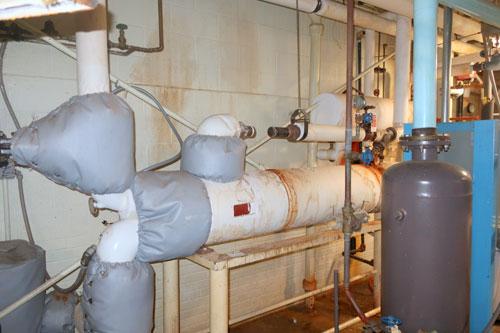 50 HP Gardner Nash Vaccum Pump, Model SC6/7