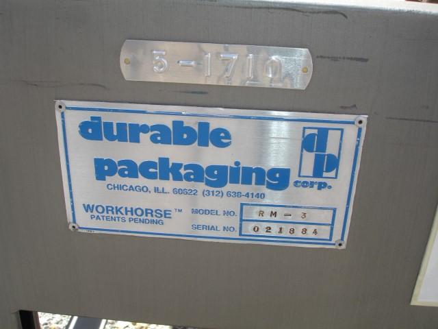 DURABLE PACKAGING BOX TAPER, MODEL RM-3