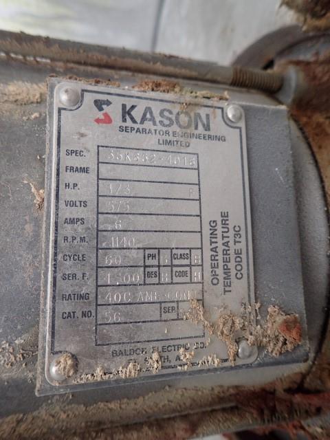 "40"" Kason Screener, Single Deck, S/S"