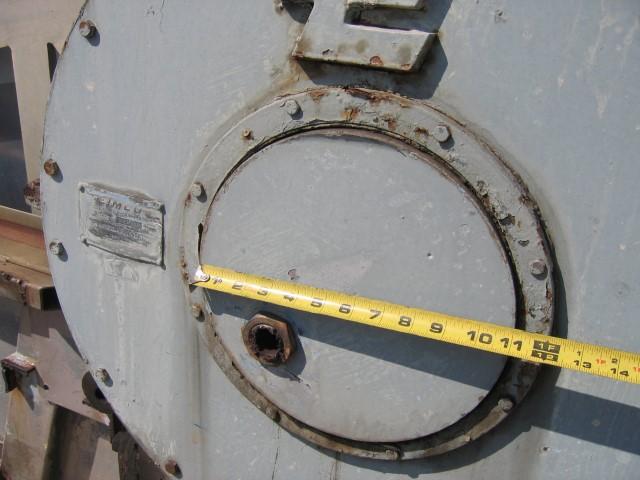 6'' X 6'' EIMCO PRE COAT ROTARY VACUUM FILER, 316 SS