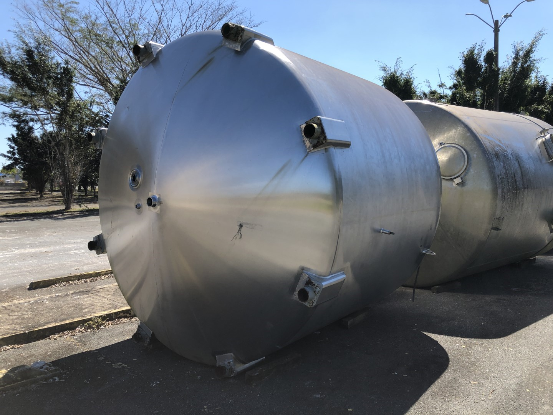 5,000 Gal  Stainless Steel Tank