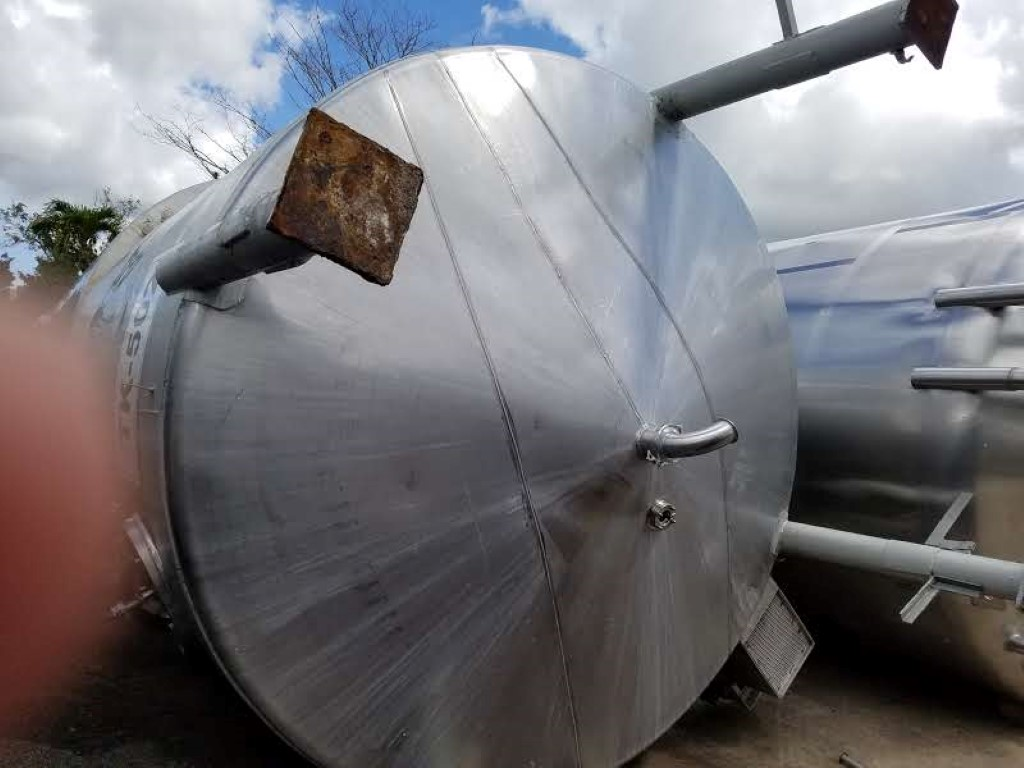 6000 Gal Stainless Steel Mix Tank