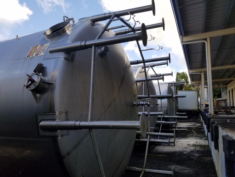 20000 Gal Cherry Burrel Tank, S/S