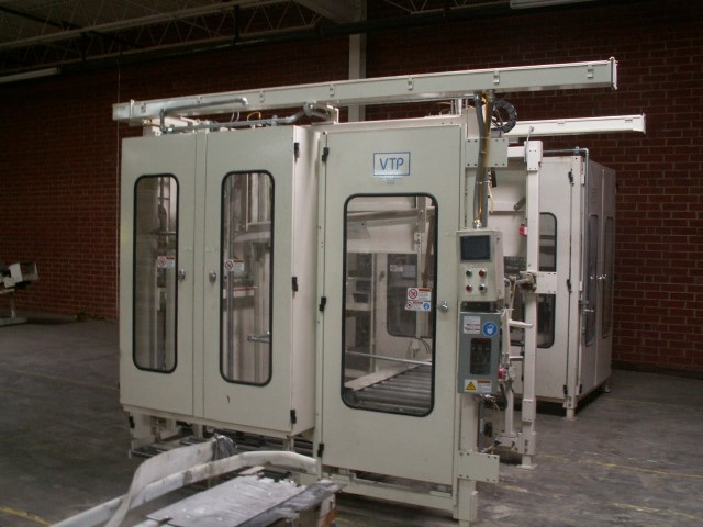 VALLEY TISSUE CASE ERECTOR AND PACKER, MODEL 9100