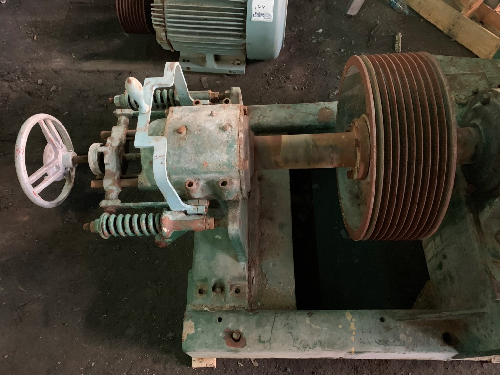 "36"" Bauer Single Disk Attrition Mill, Model 245, 75 HP"