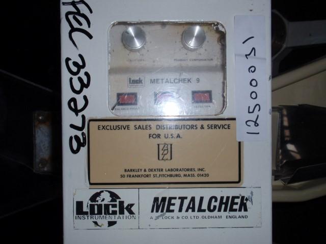 LOCK PASS THRU METAL CHECK, TYPE 9