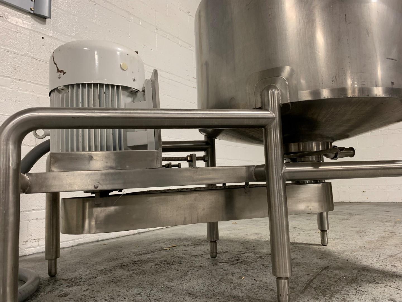 150 Gal BCast Likwifier, 304 S/S, 75 HP