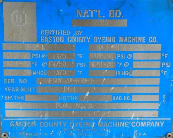 6 SQ METER ROSENMUND FILTER DRYER, 316L S/S, 50/150#