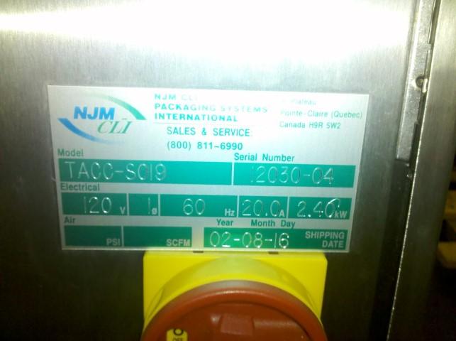 """35"""" NJM/CLI BI FLOW CONVEYOR"""