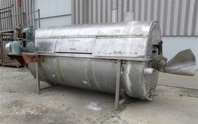ROTARY BLANCHER COOKER, 304 S/S