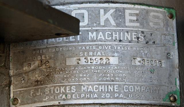 Stokes BB2, 27 Station Tablet Press