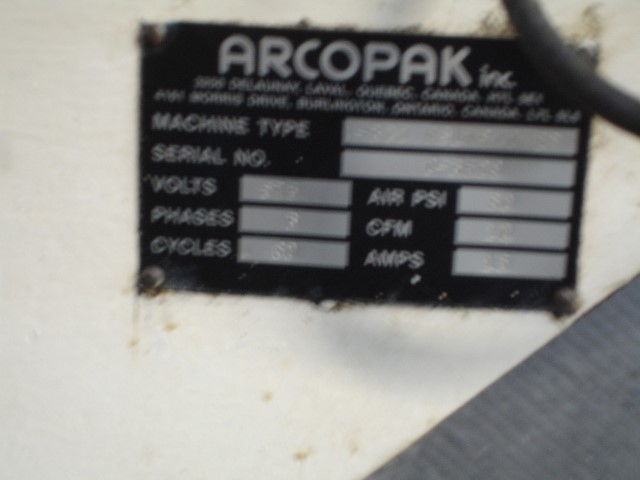 ARCOPAK DUAL SPOUT BELT PACKER, TYPE C-300