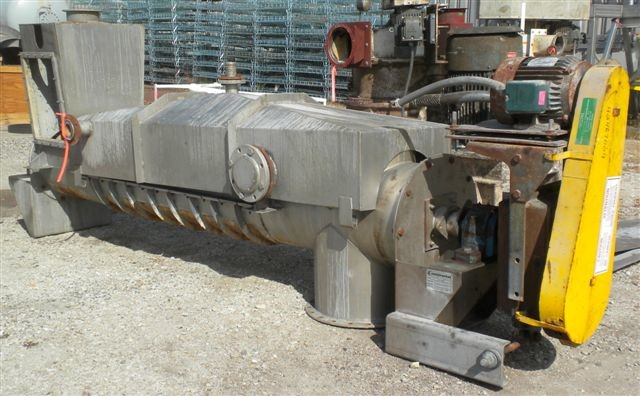 "18"" X 100"" CONTINENTAL CONVEYOR DEWATERING SCREW, 304 S/S"