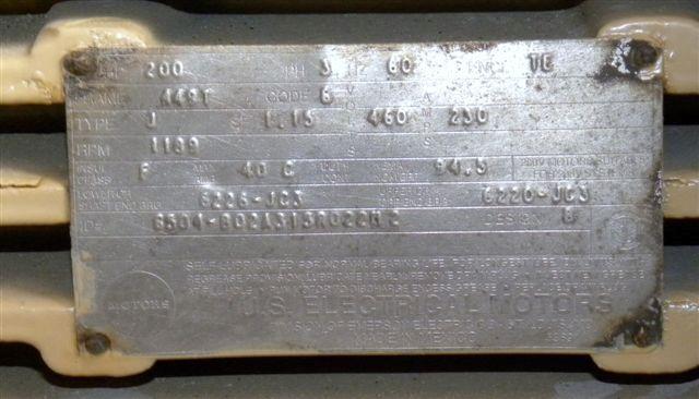 BLISS PELLET MILL, MODELB-200B-250