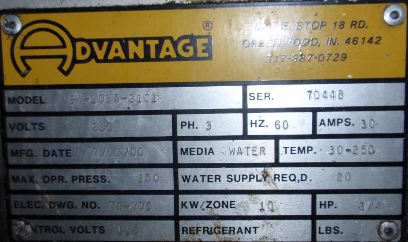 10 KW ADVANTAGE TEMPERATURE CONTROLLER