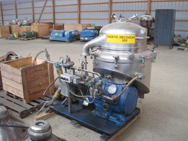 CRPX-213 ALFA LAVAL CENTRIFUGE, S/S, 25 HP