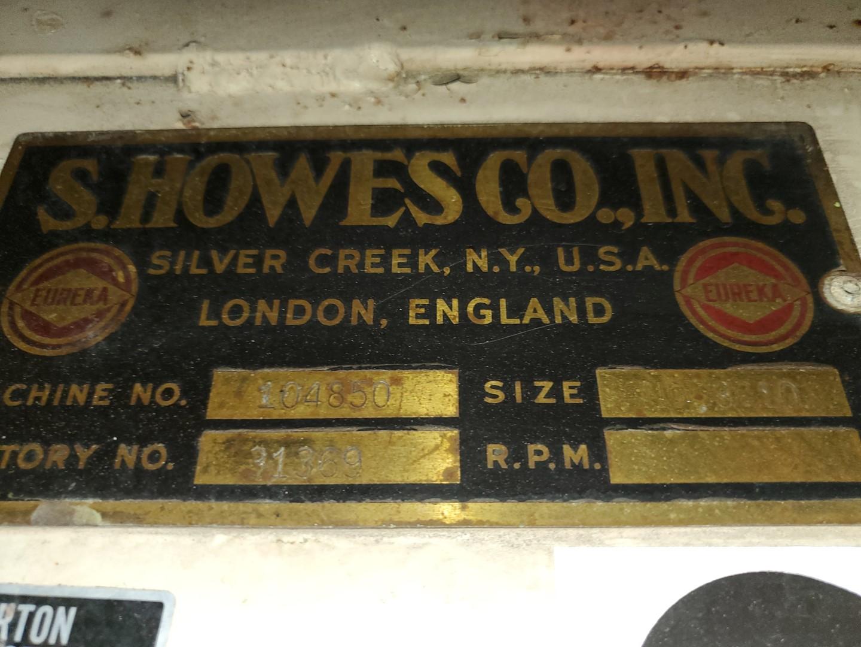 79.5 Cu Ft S. Howes Ribbon Blender, C/S