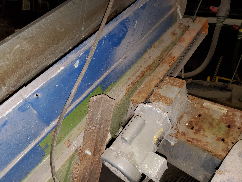 "18"" x 168"" Uniflo Inclined Belt Conveyor"